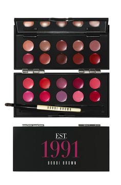 Bobbi Brown '20th Anniversary' Lip Palette - rumor has it there's at least 1 lipstick from this palette in the upcoming Spring collection. ;)