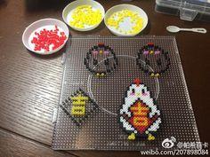 微博 Hama Beads, House Ideas, Chinese, Hama Bead, Chinese Language