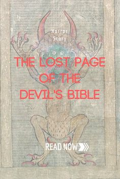 In the 12th century, a monk sold his soul to the Devil to complete a book (the Codex Gigas) containing all human knowledge. Here's the truth behind it... Scary creepypasta horror story