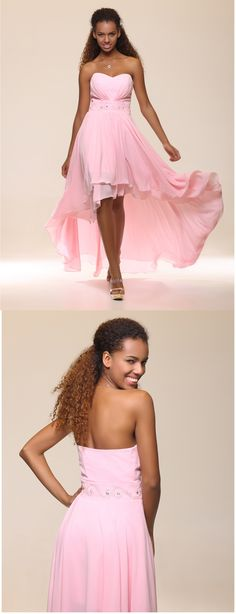 Falling in love with this blushing pink asymmetrical dress <3 Does it suit your style? Click to get it for $75.99!!