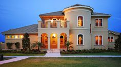 spanish style home designs with court yard | ... Courtyard Home Plan; Blogroll. The Spanish revival – or Spanish