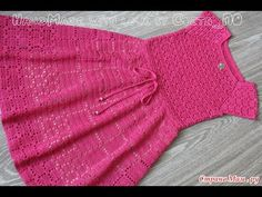 Crochet dress  How to crochet an easy shell stitch baby / girl's dress for beginners 52 - YouTube