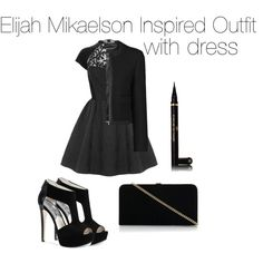 Elijah Mikaelson Inspired Outfit with dress