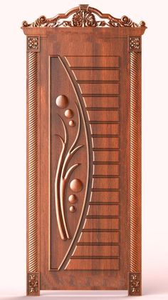 Single Wooden Door Designs, Single Main Door Designs, Wooden Front Door Design, Wooden Front Doors, Main Entrance Door Design, Entrance Doors, Door Design Interior, Cupboard Design, Wood Panel Walls