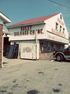 Hailey Salvage - Nashville architectural salvage and thrift