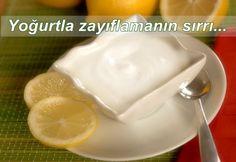 Yoğurt, limon, pul biber ile zayıflayın.