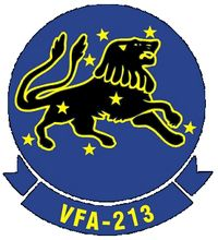 VFA-213 Black Lions Strike Fighter Squadron Two-One-Three