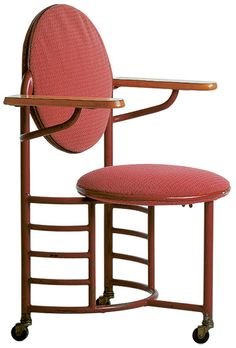 247: Frank Lloyd Wright / Chair From The Johnson Wax Building, Racine,  Wisconsin U003c Important Design, 09 December 2008 U003c Auctions | Wright |  Pinterest ...