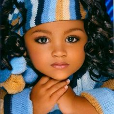 Pretty baby girl. More than pretty. She is luminous!