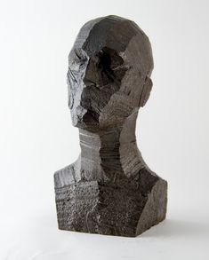 Rory-Menage-5 Sculpture Head, Human Sculpture, Plaster Sculpture, Stone Sculpture, Modern Sculpture, Abstract Sculpture, Sculptures, Stone Carving, Wood Carving