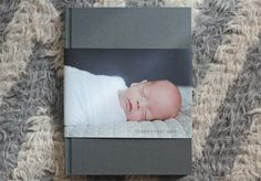 Ollie's Baby Book by Kelsey Nixon // Artifact Uprising Hardcover photo book.