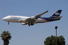 World Airways Cargo, Boeing 747-400F | Flickr - Photo Sharing!