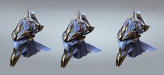 ArtStation - Starcraft II Legacy of the Void Zealot Art Direction, Jonathan Berube