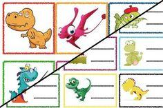 Znaczki przedszkolne – Dinozaury