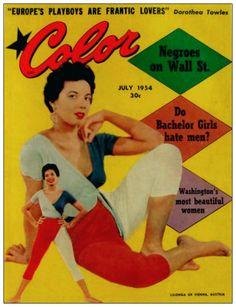 Our World Magazine May 1951 cover. Jet Magazine, Black Magazine, Life Magazine, Magazine Stand, Vintage Advertisements, Vintage Ads, Vintage Posters, Vintage Vanity, Black Pin Up