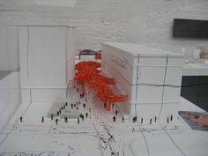 maquette of the sequence, Brussels by Arne Quinze