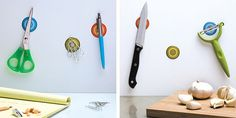 Cool magnetic stickers for the kitchen!