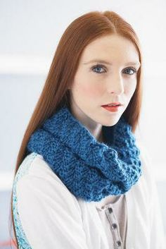 Caron® Simply Soft® Knit it Tonight Cowl (Knit)