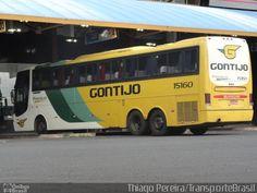 Ônibus da empresa Empresa Gontijo de Transportes, carro 15160, carroceria Busscar Jum Buss 360, chassi Scania K124. Foto na cidade de Uberaba-MG por Thiago Pereira/TransporteBrasil, publicada em 14/02/2013 15:26:05.