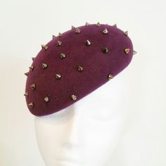 Peach bloom hat with stud detail Fascinator, Watermelon, Anna, Bloom, Peach, Detail, Hats, Garden, Stuff To Buy