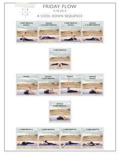 FRIDAY FLOW: A Yoga Cool Down Sequence
