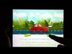 Animated parallax inside an epub 3 - YouTube