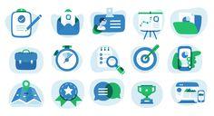 Challenge: To create an illustration style – Qstream Design – Medium