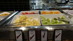 Buffet Breakfast at Salt Grill at the Hilton Surfers Paradise on the Gold Coast in Queensland, Australia Paradise Hotel, Breakfast Buffet, Queensland Australia, Surfers, Gold Coast, Fresh Fruit, Salt, Food, Essen