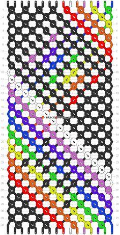 Normal pattern #5848 pattern Friendship Bracelet Patterns, Friendship Bracelets, Necklace Display, Diy Projects, Crafts, Bracelet Patterns, Knots, Bangle Bracelets, Manualidades