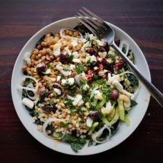 Greek-Style Buddah bowl HealthyAperture.com