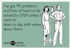 Haha ... Third shift lab life