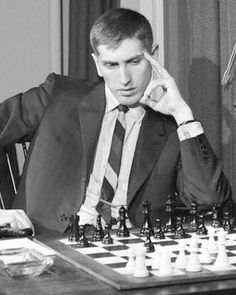 1958 - Bobby Fischer became the youngest ever Chess Grandmaster.