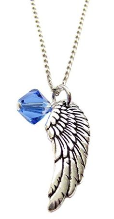 Archangel Michael Angel Wing Charm Necklace *** Be sure to check out this awesome product.(This is an Amazon affiliate link)