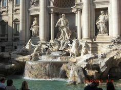 Trevi Fountain, Rome  -  Beautiful!!
