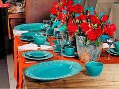 14 aparelhos de jantar coloridos para alegrar a mesa - Casa