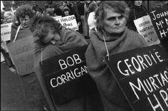 "Mothers of the Hunger Strike, Falls Road, Belfast ca. ""The 1981 Irish… Bobby Sands, Irish Independence, Time In Ireland, Hunger Strike, Michael Collins, Irish Roots, Oral History, Irish Eyes, Irish Dance"