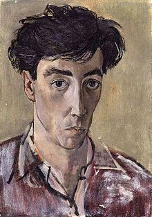 John Minton, self-portrait