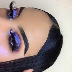 Cute Eye Makeup, Makeup Eye Looks, Creative Makeup Looks, Colorful Eye Makeup, Eye Makeup Tips, Pretty Makeup, Eyeshadow Makeup, Hair Makeup, Makeup Ideas