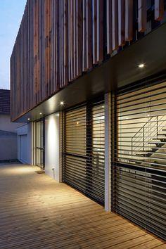 Maison architecture on pinterest facades architects for Constructeur maison bois kit vendee