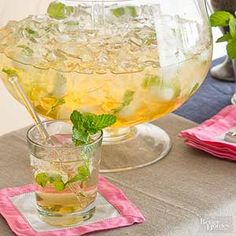 Make mint juleps for a crowd with this easy recipe!