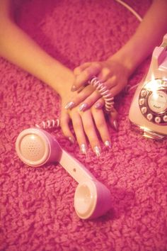 "cschoonover: "" Shot for Nylon Magazine by Chris Schoonover Nails by Fleury Rose "" Bedroom Wall Collage, Photo Wall Collage, Picture Wall, Bad Girl Aesthetic, Aesthetic Vintage, Aesthetic Space, Pretty In Pink, Wow Photo, Pink Photo"