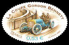 La Richard Brasier 1905 Coupe Gordon Bennett - Timbre de 2005