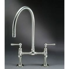 Ordinaire NO    Jaclo 1014  Kitchen Fixtures Stainless Steel Deck Mounted Bridge  Kitchen Faucet