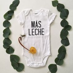 Hey, I found this really awesome Etsy listing at https://www.etsy.com/listing/466461577/mas-leche-baby-onesie
