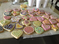 Butter Cookies - I crafted more than 300 cookies.