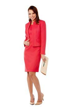 Pop Color Suit Dress