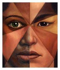 New Photography Arte Gcse People Ideas Arte Gcse, Gcse Art, Photoshop, Color Race, Posca Art, Different Skin Tones, Mixed Race, A Level Art, Identity Art