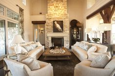 Southern Living Showcase House  Living Room  Layout
