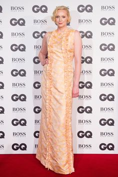 Gwendoline Christie aux GQ Men of the Year Awards 2016