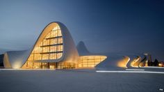Heydar Aliyev Centre, Dame Zaha Hadid